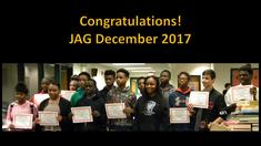 JAG Promotion to 8th Grade